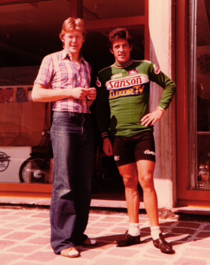 HMH und Francesco Moser 1979